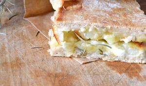 Pizzetta Pommes de terre - Mozzarella - Romarin
