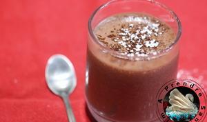 Mousse au chocolat coco sans œufs ni gluten