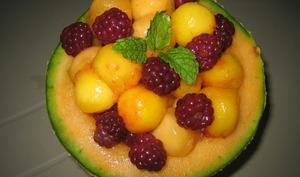 Salade de fruits en billes