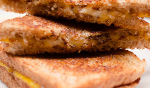 Grilled cheese sandwich