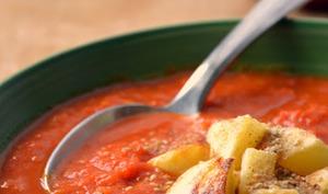 Velouté de Poivrons rouge, Tomates et Epices