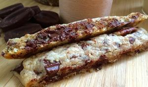 Cookies sticks, milkshake banane-coco