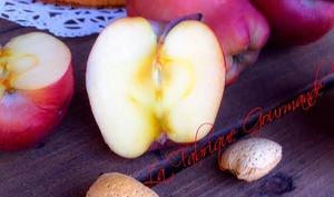 Moelleux aux Pommes à la Crème d'Amande