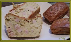 Cake jambon - courgette