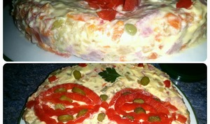 Salade russe- « Salade Olivier »