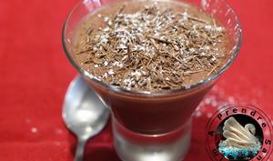 Mousse au chocolat au tofu soyeux sans gluten