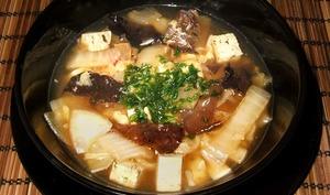 Soupe au chou chinois