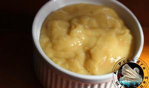 Crème pâtissière vanille sans sucre de Conticini