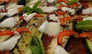 Pizza végétarienne maison