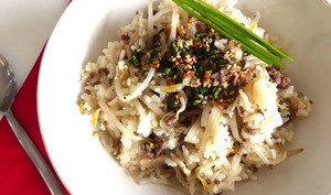 Bol de riz aux germes de soja