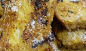 Mon pain perdu au rhum et au beurre salé