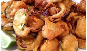 beignets de légumes variés