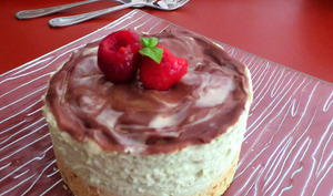Cheesecake Avocat et Chocolat