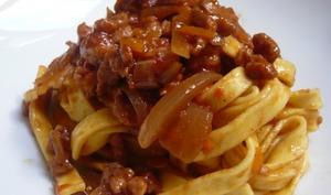 La sauce bolognaise