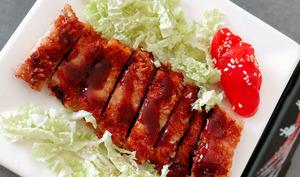 Tonkatsu et sa Sauce