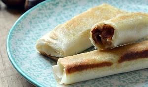 Croustillants Girolles et Foie gras poêlé
