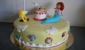 Gâteau Sous un nuage