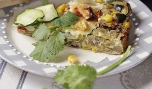 Pudding aux légumes et au persil