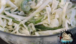 Salade crémeuse de chou cru