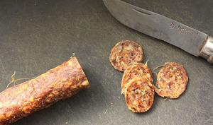 Saucisse sèche au poivre de Sichuan et au piment