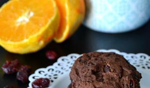 Cookies orange et chocolat