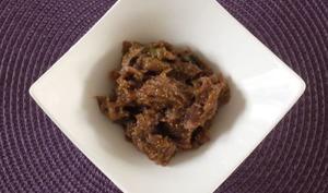Confit de figues et oignons au vinaigre balsamique