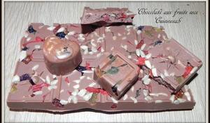 Chocolats aux fruits secs