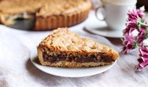 La cookie pie aux éclats de chocolat et noix de pécan