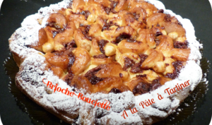"""Brioche """"bouclette"""" à la pâte à tartiner"""