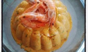 Bavarois aux carottes et épices tandoori