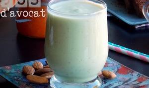 jus d'avocat ou milk shake marocain