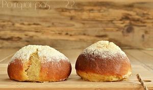 Petits pains moelleux fromage blanc et cannelle