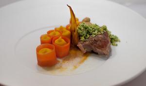 Osso Bucco et gremolata di Buffala, carotte courgée