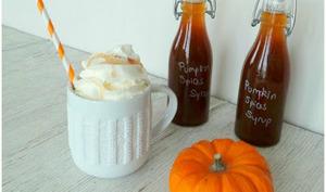 Sirop de potiron aux pumpkin spices