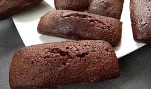 Financiers au chocolat de Jean-Paul Hévin