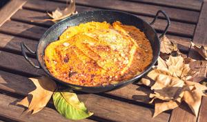 Hachis parmentier volaille carottes et patates douces
