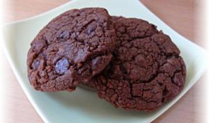 Cookies doublement chocolat