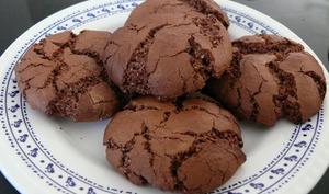 Cookies fourrés aux Mentos Choco
