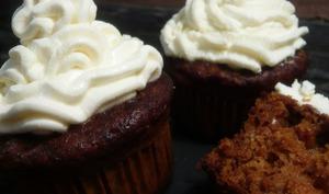 Cupcakes potiron, érable, mascarpone