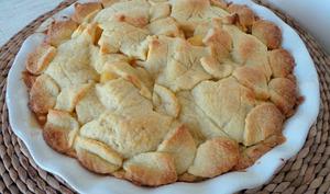 Tourte aux pommes au caramel au beurre salé