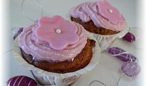 Cupcakes Mûres Chocolat Blanc
