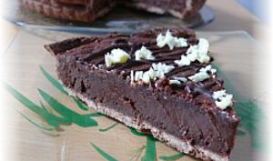 Tarte à la Mousse au Chocolat Cuite
