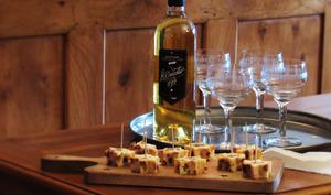 Bouchées étoilées au foie gras