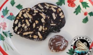 Salami au chocolat