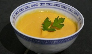 Soupe Carottes Navets Soja