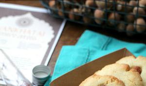 Cookies safran, epices et amandes