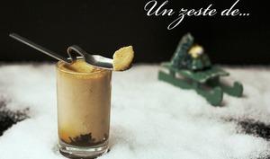 Panna Cotta au foie gras sur lit d'oignon confit