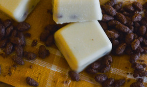 Chocolats blancs et riz soufflé