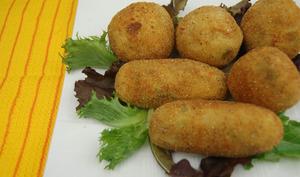 Croquettes de pomme et sardines