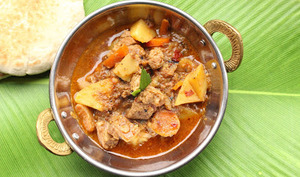 Curry d'agneau 'Bafat'
